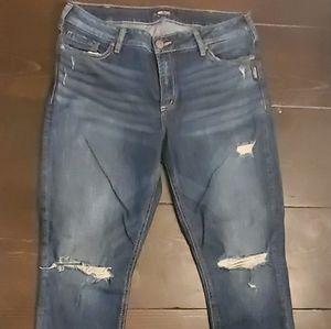 Skinny Silver jeans